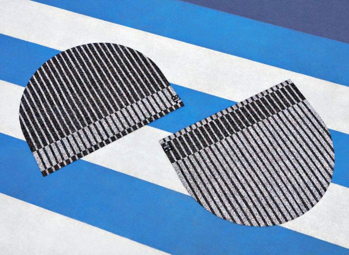 simone post adidas stripped down stripes rugs 1