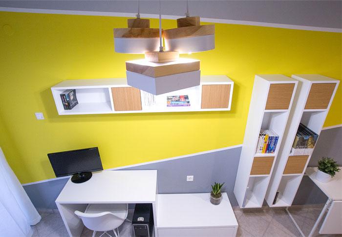 studio apartment Square Design Interiors 8