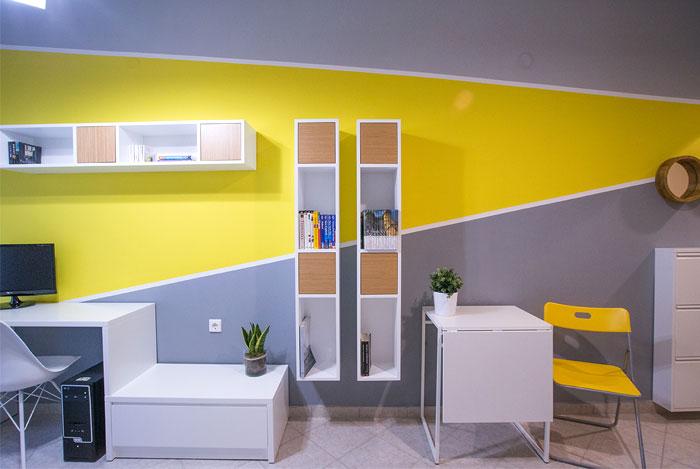 studio apartment Square Design Interiors 9