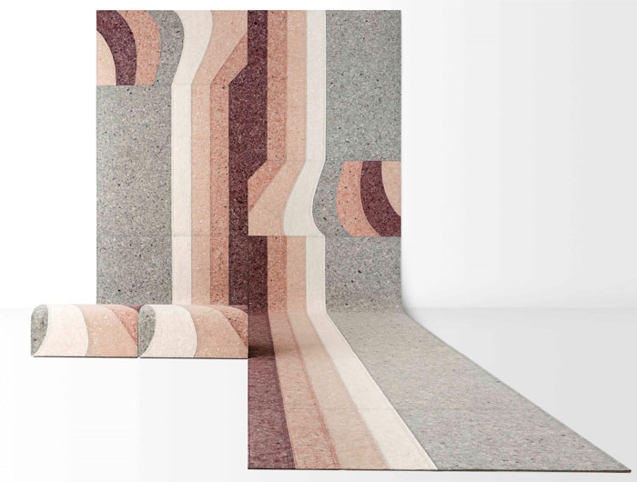 gan sustainable felt rug 6
