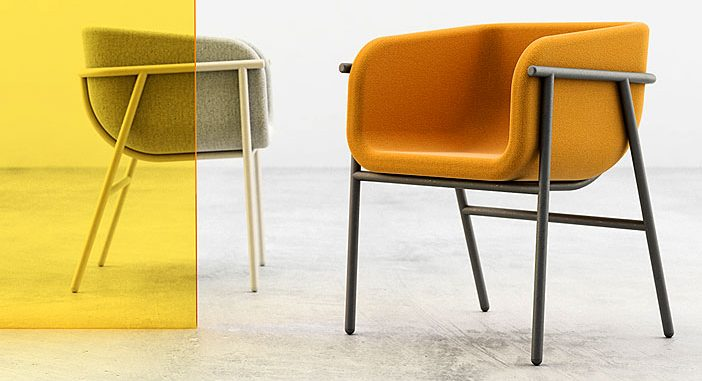 Compact Lounge Seat Flora by Studio Pastina