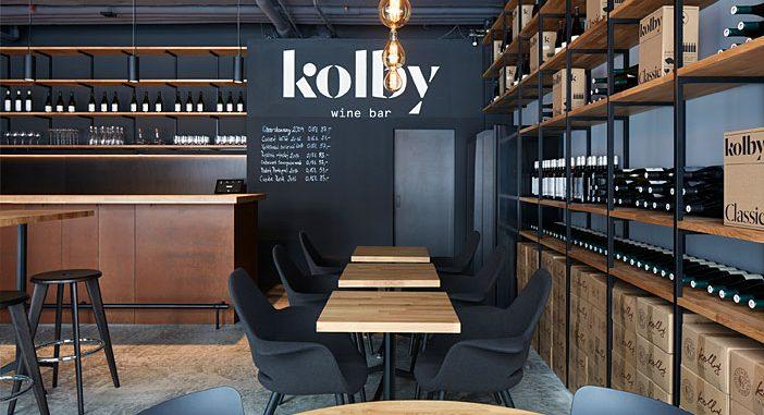 Kolby Wine Bar by CMC architects