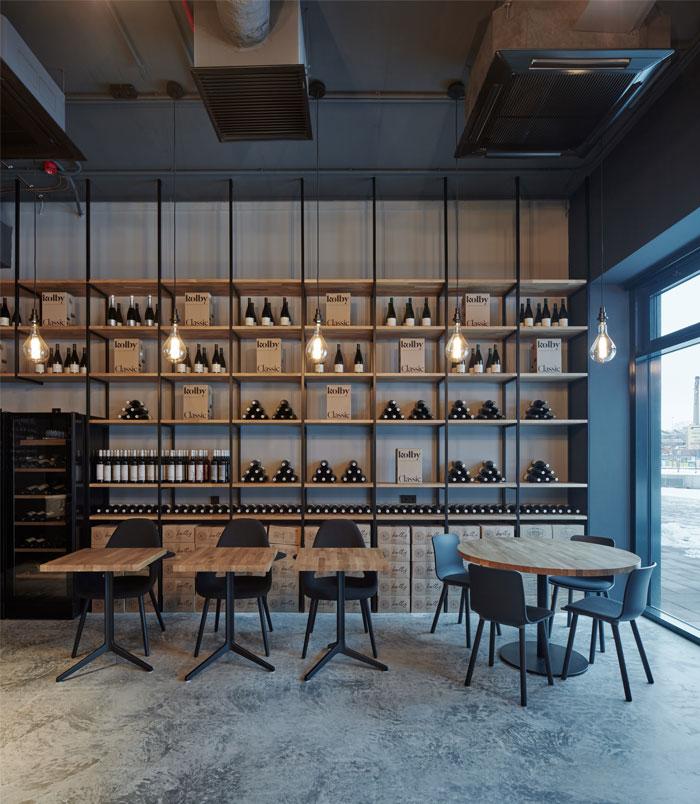 kolby wine bar CMC architects 13