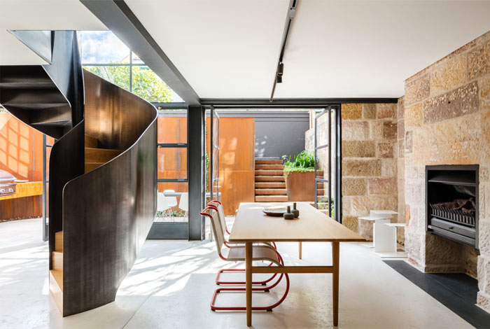 paddington house by pohio adams architects 1