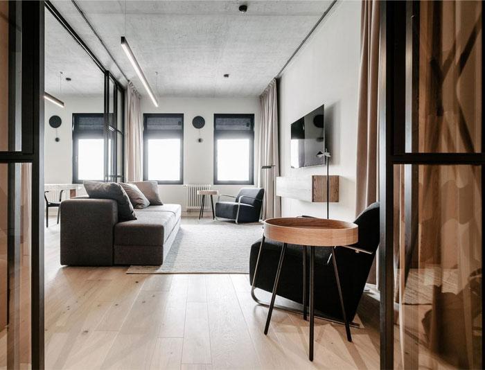 small urban apartment burofive 8