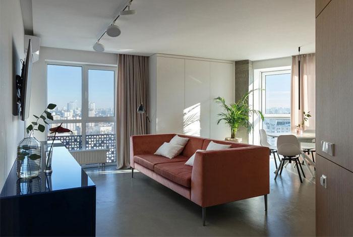 svoya studio apartment kiev 4