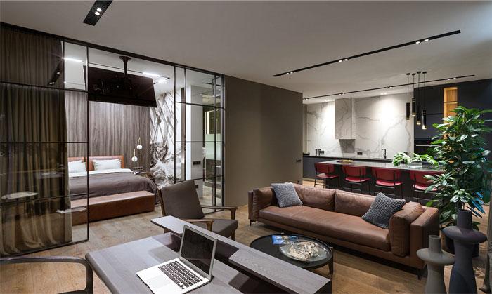 78m2 urban dwelling homecult interior design 6