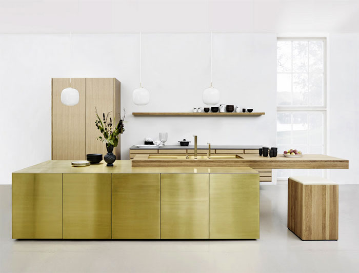 metal kitchen cabinets glamorous look 3