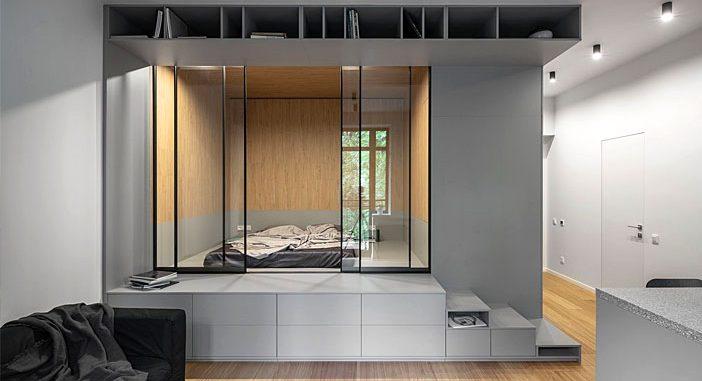 U Concept Designed a Small yet Flexible Home