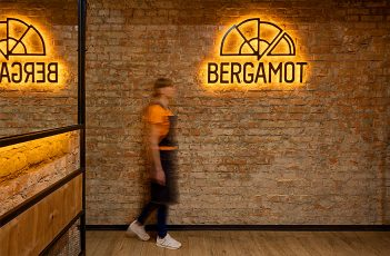 Bergamot Restaurant Decor by YUDIN Design