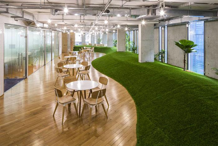 greenery office design 2