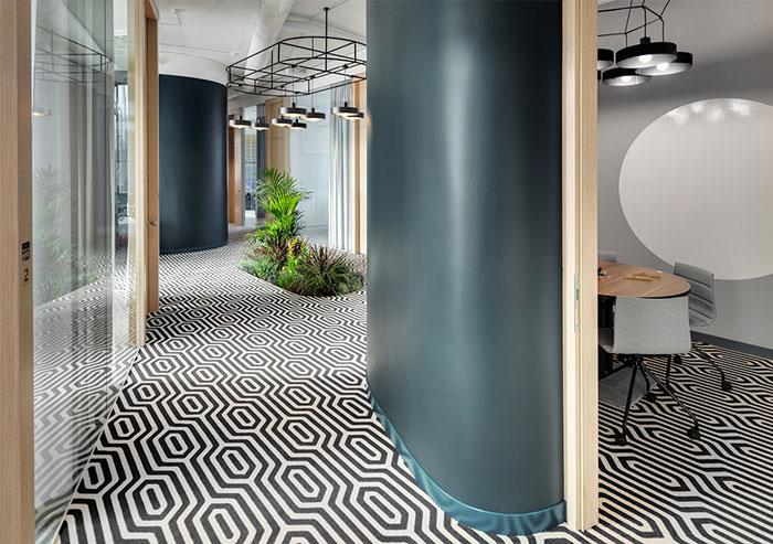 greenery office design monday office 5