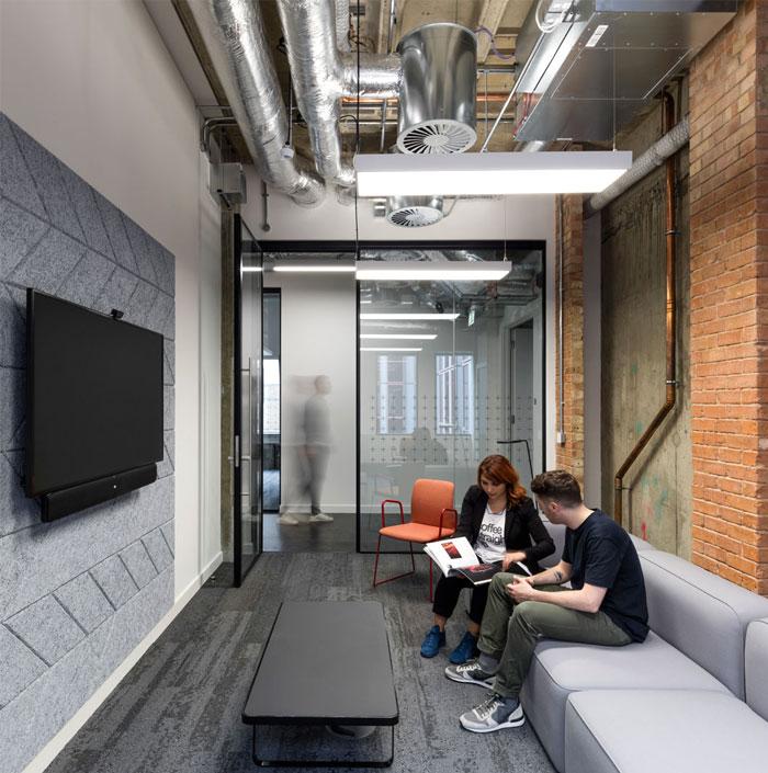individual workstations multi purpose room 12