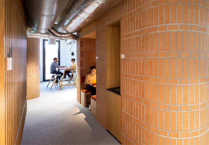 individual workstations multi purpose room