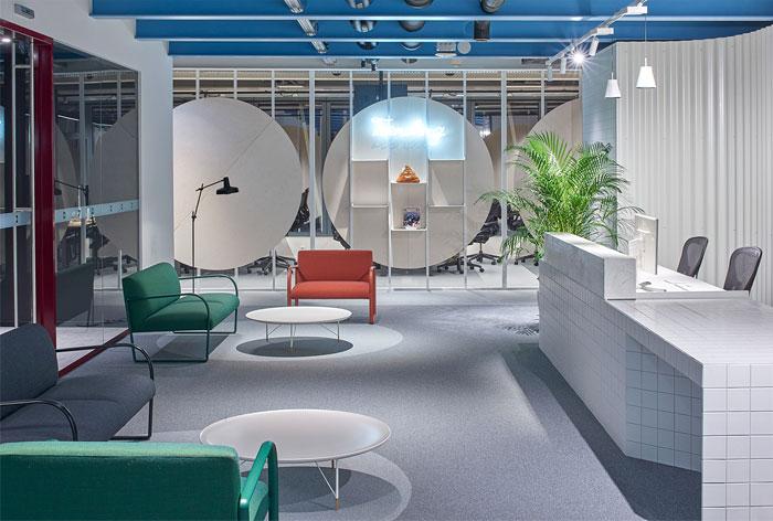 lobby office reception decor ideas oberto 1