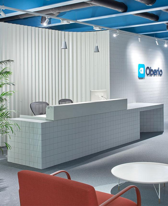 lobby office reception decor ideas oberto 2