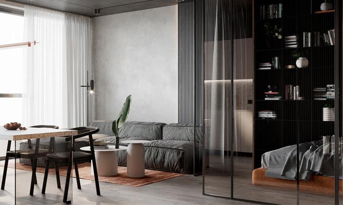 one room flat 6