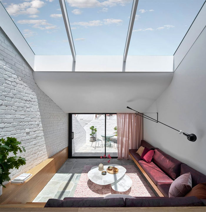 fitzroy terrace house taylor knights architects 1