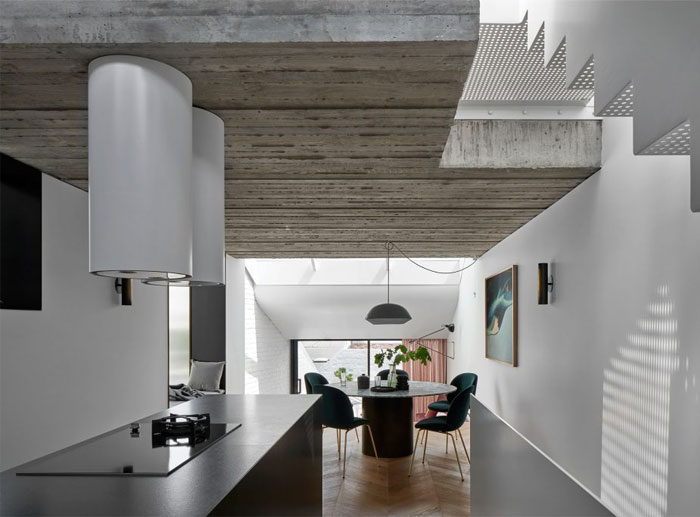 fitzroy terrace house taylor knights architects 13