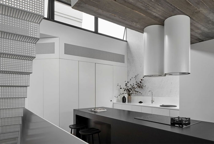 fitzroy terrace house taylor knights architects 15