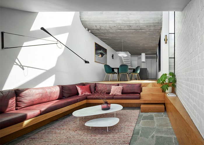 fitzroy terrace house taylor knights architects 2