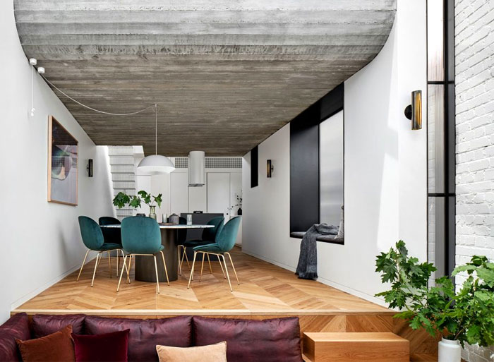 fitzroy terrace house taylor knights architects 3