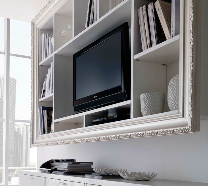 creative frame tv wall 5