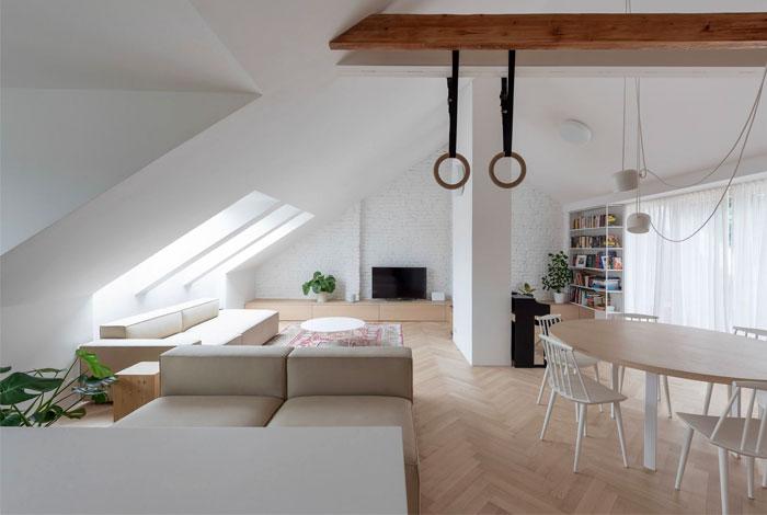 kilo honc attic apartment bratislava 1