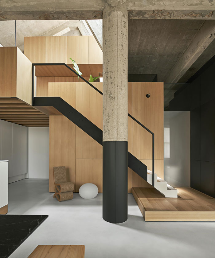 michigan loft vladimir radutny architects 2