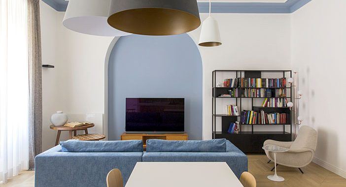 Romantic Apartment in Rome Renovated by Filippo Bombace