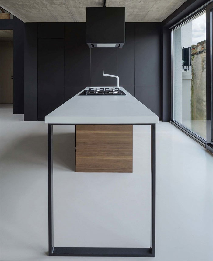stylish mezzanine apartment bratislava 11