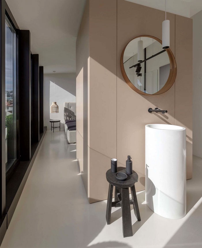 stylish mezzanine apartment bratislava 12
