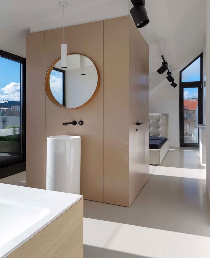 stylish mezzanine apartment bratislava 13