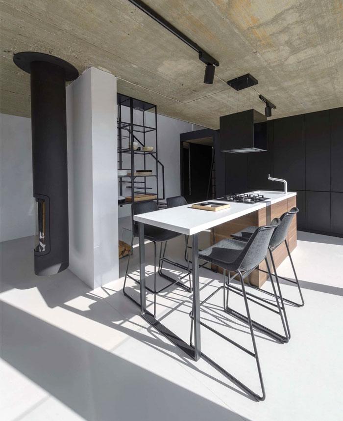 stylish mezzanine apartment bratislava 2