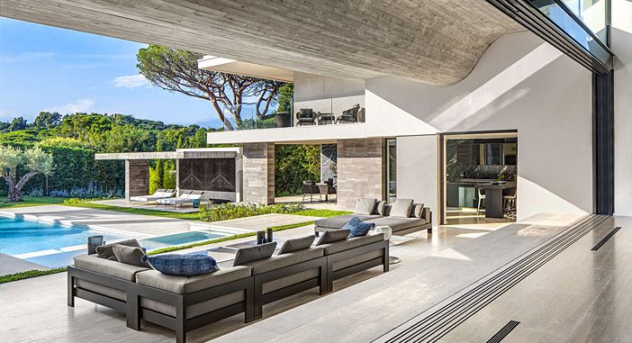 Summer House in Saint Tropez, France Designed by SAOTA