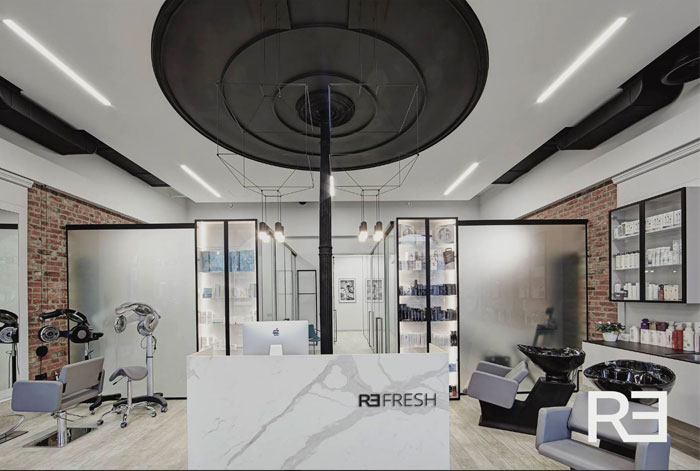 wireflow pendant barber shops 6