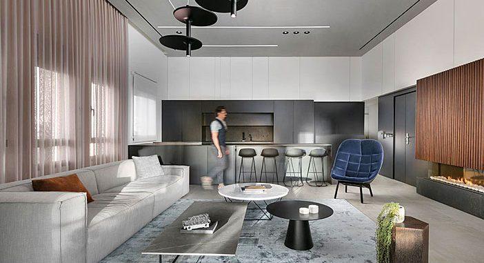 Penthouse in Modiin by Studio Erez Hyatt