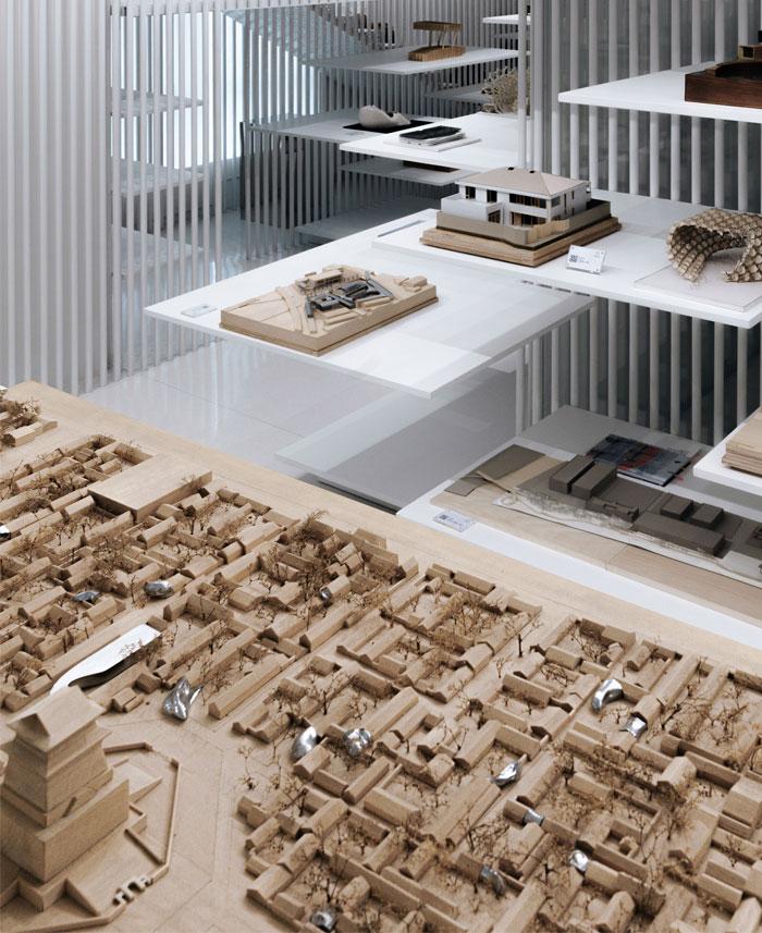 architectural model museum wutopia lab 16