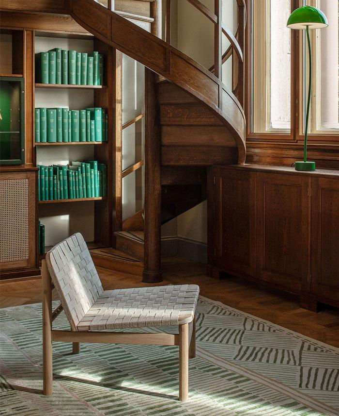 biblioteket rug by asplund 2