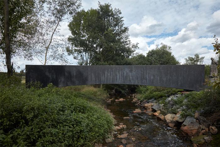 bridge made concrete aoc architects 1
