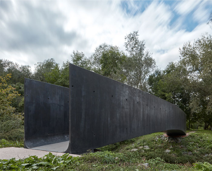 bridge made concrete aoc architects 5