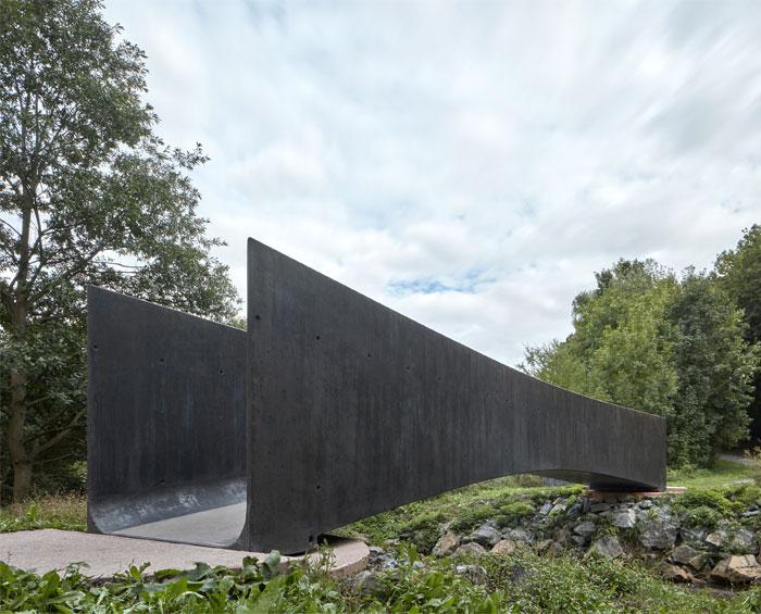 bridge made concrete aoc architects 7