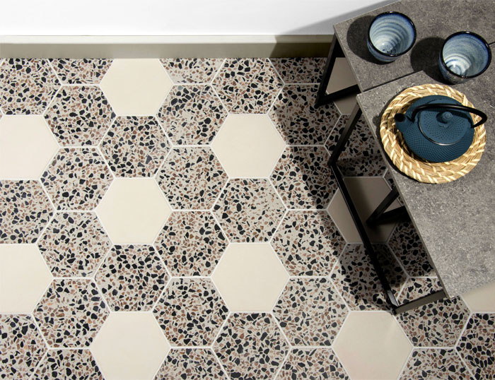 Handcrafted Precast Terrazzo Collection By Kaza Concrete