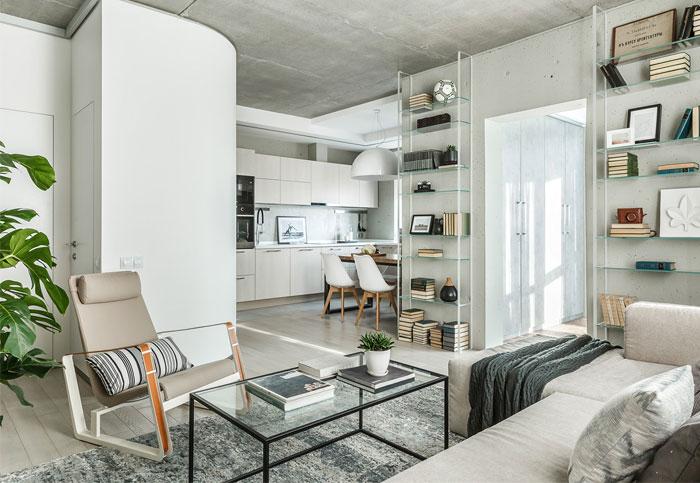 room design buro beton apartment 11