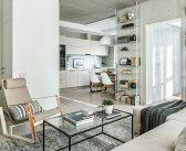 Chic Concrete Apartment Decor