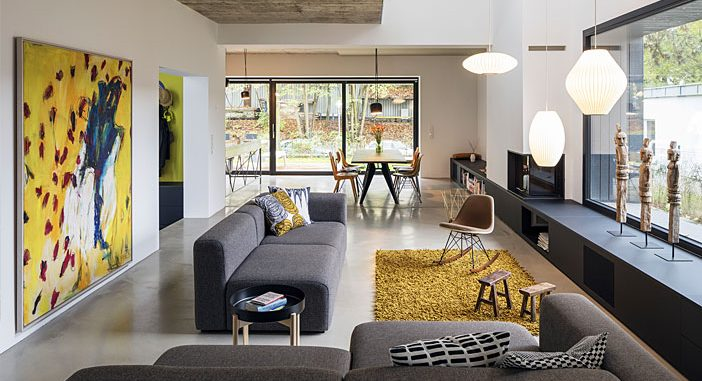 Industrial Building in Berlin was Turned into a Cozy Home