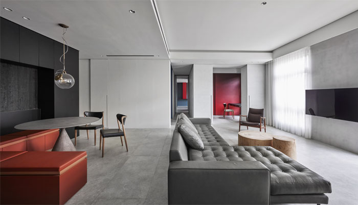 small scale apartment Waterfrom Design 12