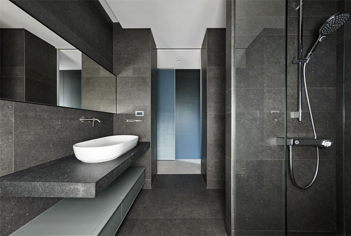 small scale apartment Waterfrom Design 13