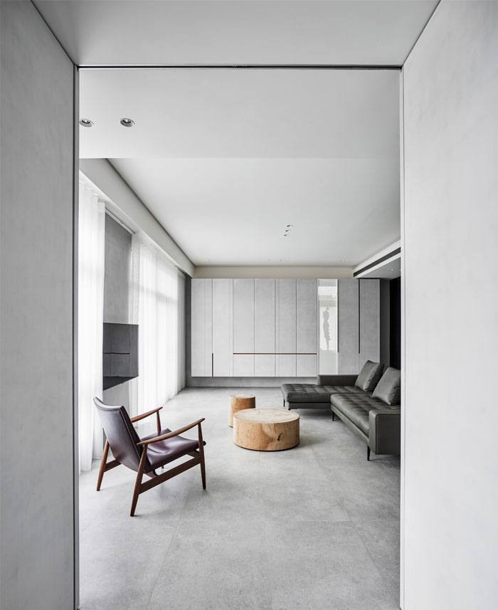 small scale apartment Waterfrom Design 20