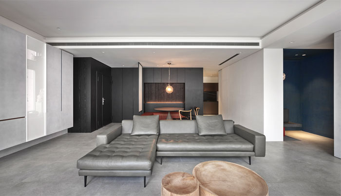 small scale apartment Waterfrom Design 9